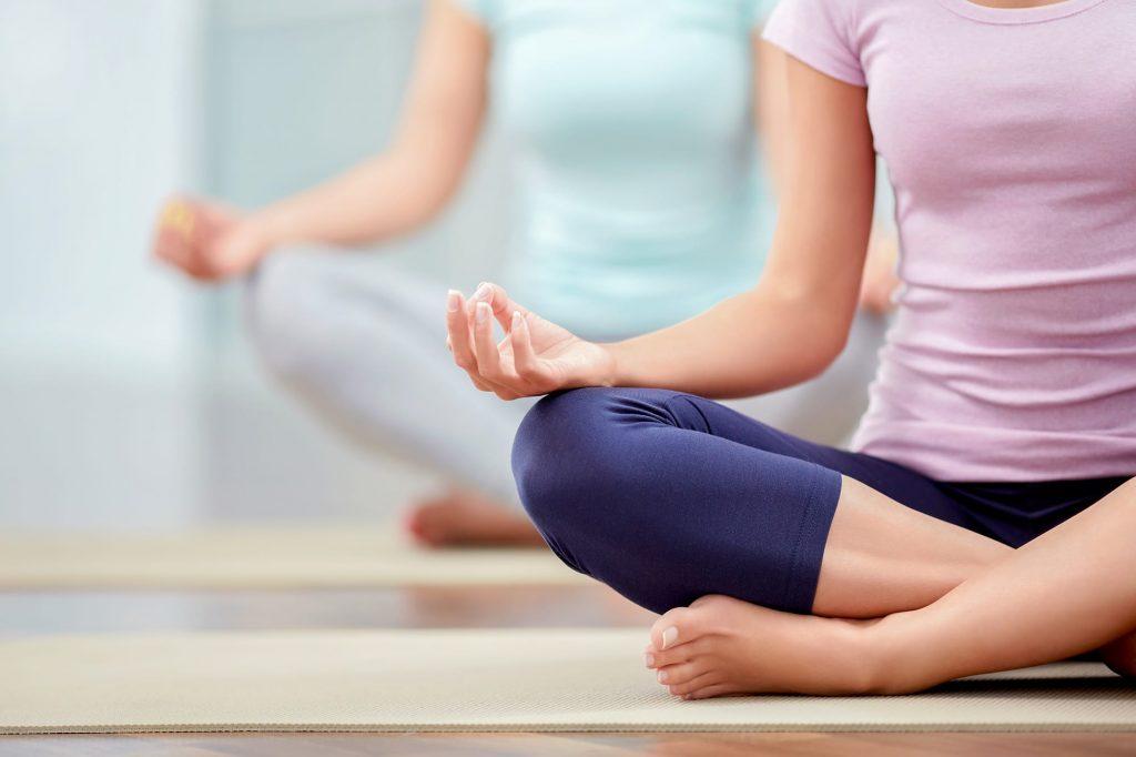 Das tut gut! Yoga für Anfänger entdecke die Kraft und die Ruhe.