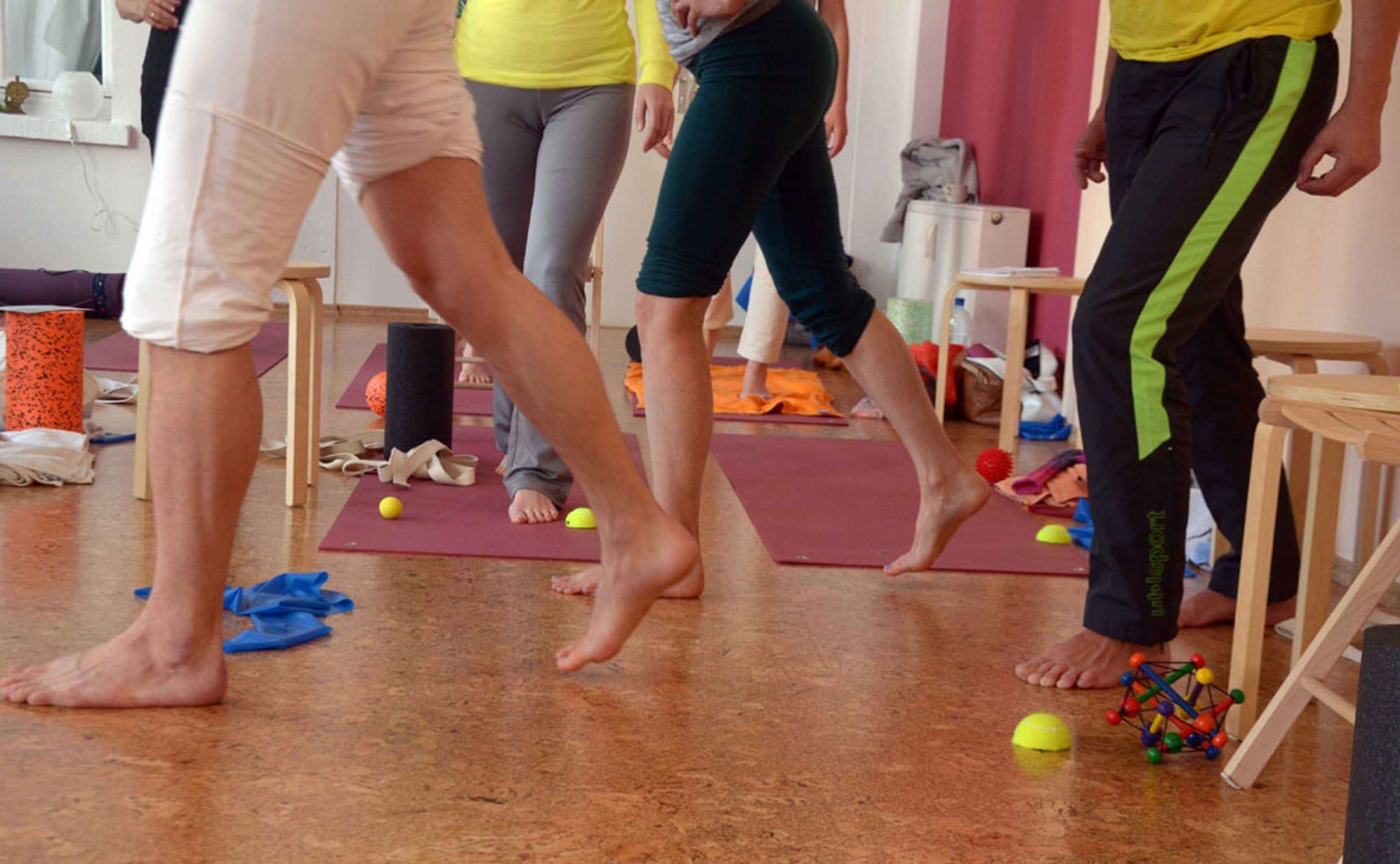 Fußschule Spiraldynamik® | YOGA-MA – Dein Yoga-Studio in Stuttgart