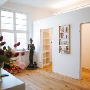 Eingangsbereich – Yoga-Studio in Stuttgart mieten