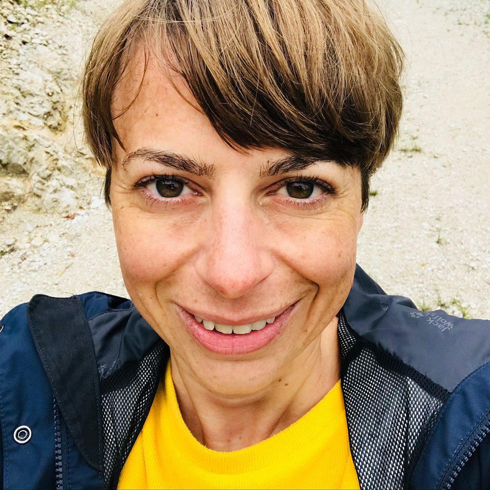Yogalehrerin Susanne Stenglein